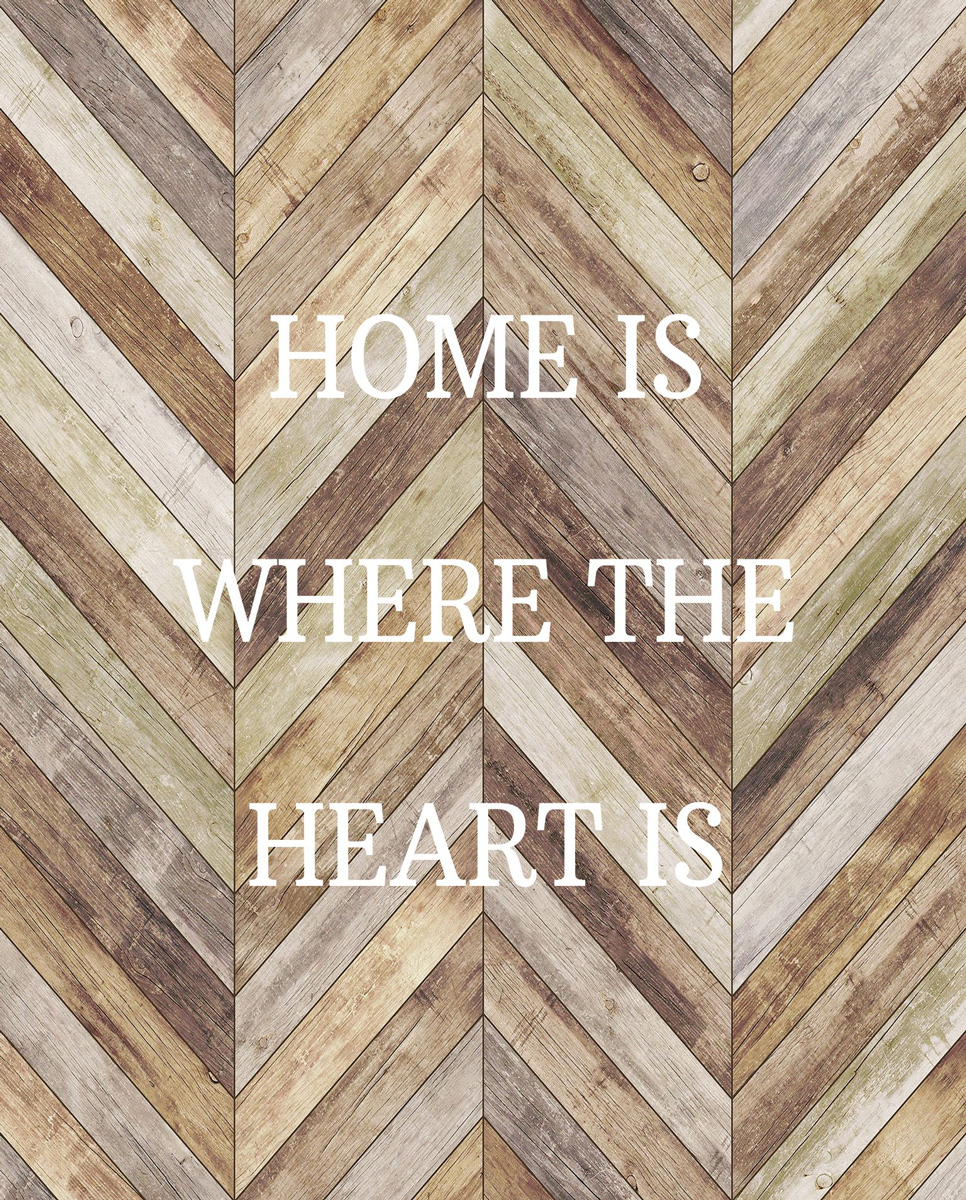 Home Is Where The Heart Is Inspirational Jigsaw Puzzle