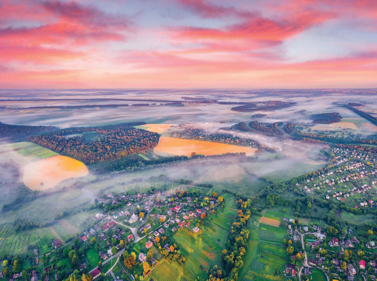 Incredible Summer Sunrise, Ukraine Jigsaw Puzzle