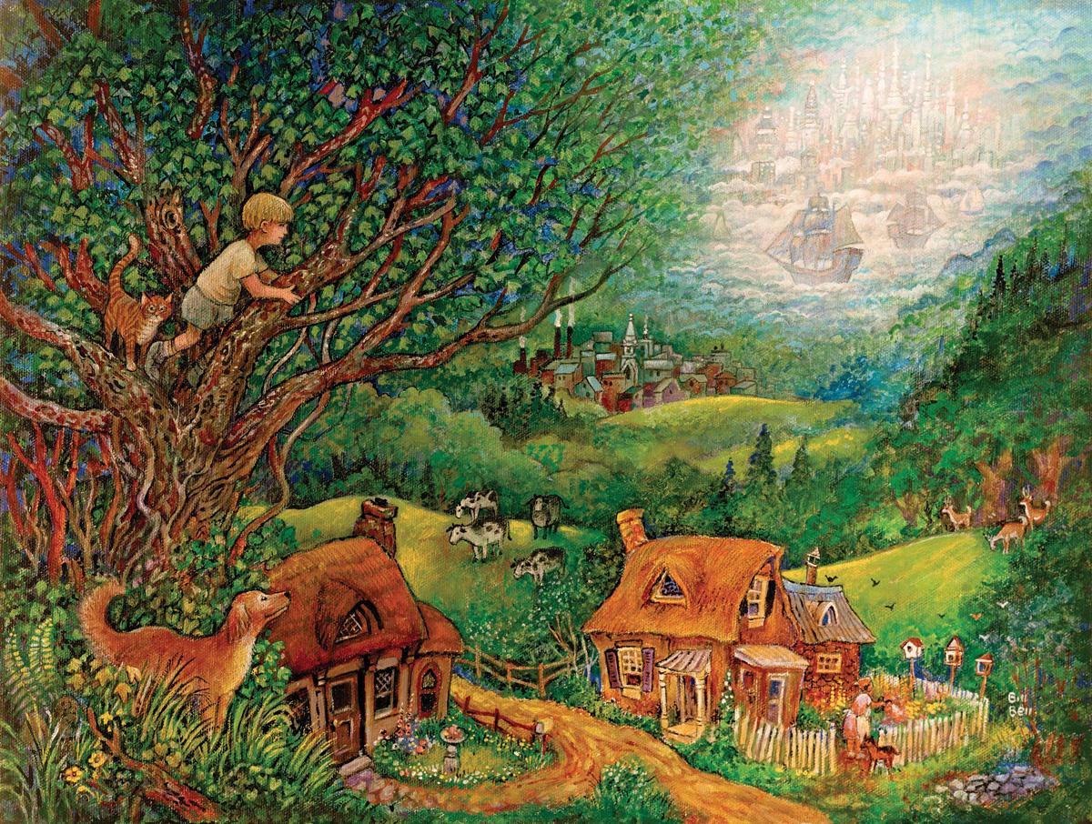 Far Away Countryside Jigsaw Puzzle