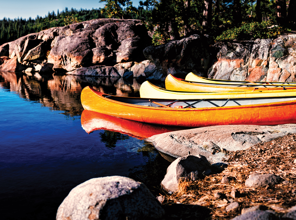 Canoes Lakes / Rivers / Streams Jigsaw Puzzle