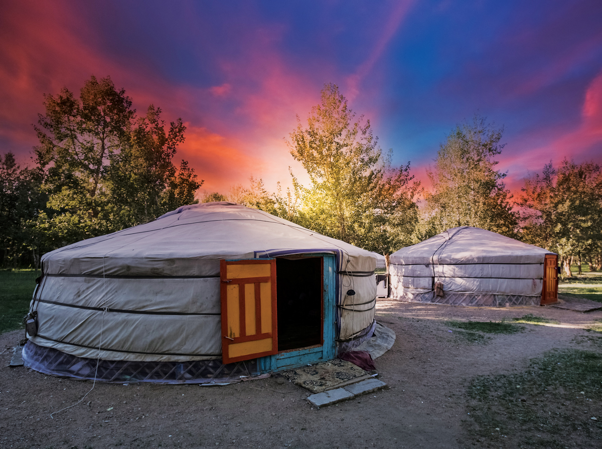 Mongolian Village Asia Jigsaw Puzzle
