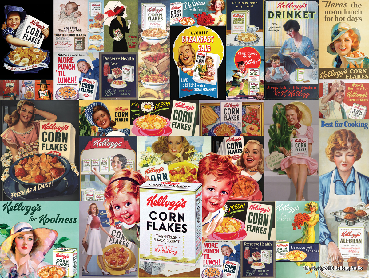 Corn Flakes Food and Drink Jigsaw Puzzle