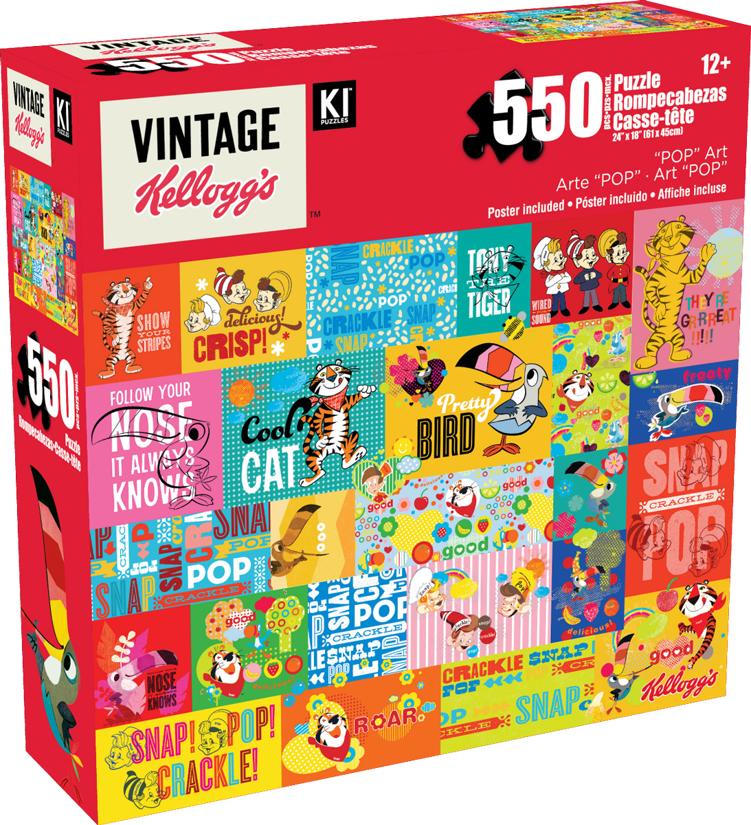 Pop Art Food and Drink Jigsaw Puzzle