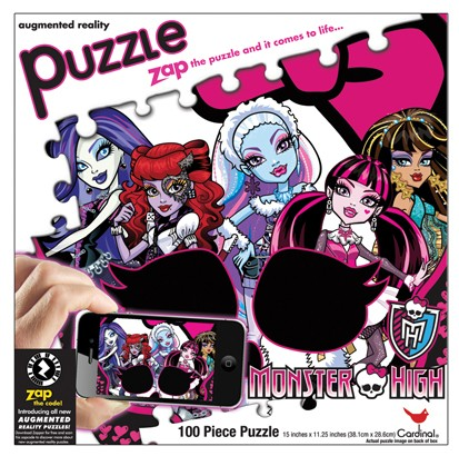 Augmented Reality - Monster High Cartoons 3D Puzzle