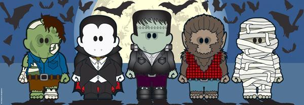 Weenicons, Halloweenies Cartoons Jigsaw Puzzle