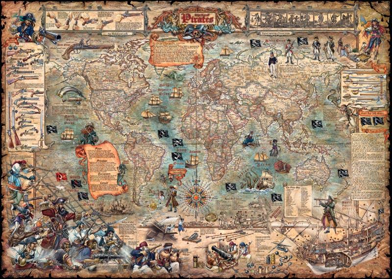 Pirate world jigsaw puzzle puzzlewarehouse pirate world gumiabroncs Choice Image