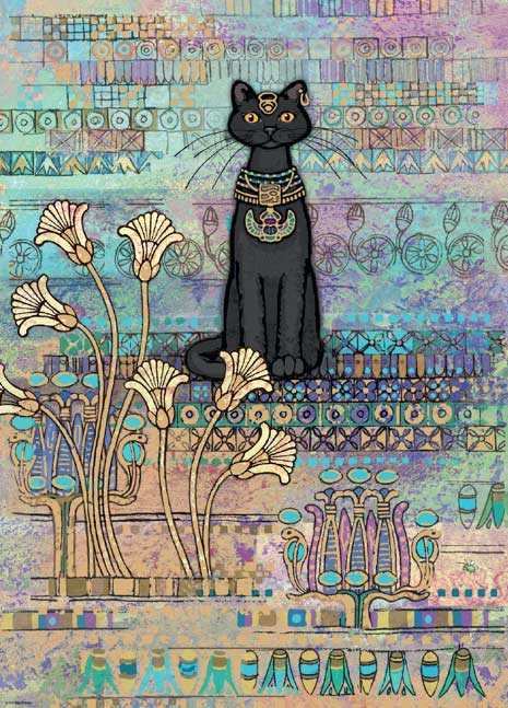 Egyptian Cats Cats Jigsaw Puzzle