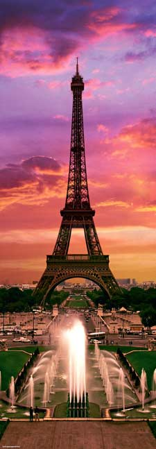 Night in Paris (Sights) Landmarks / Monuments Jigsaw Puzzle