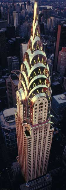Chrysler Building (Sights) - Scratch and Dent Landmarks / Monuments Jigsaw Puzzle