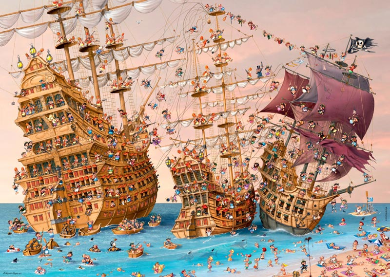 Corsair Fantasy Jigsaw Puzzle