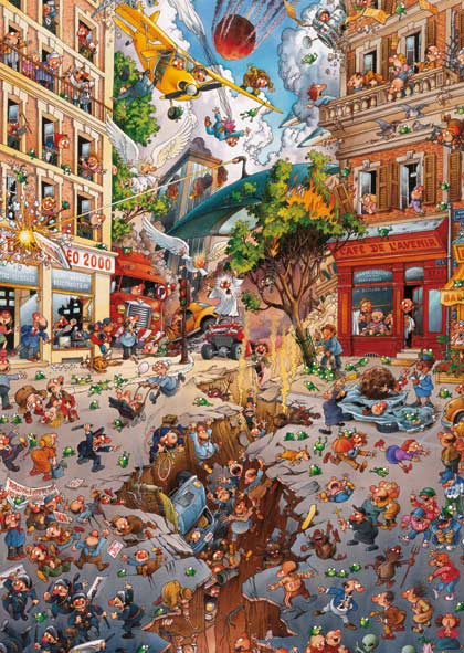 Apocalypse - Scratch and Dent Cartoons Jigsaw Puzzle