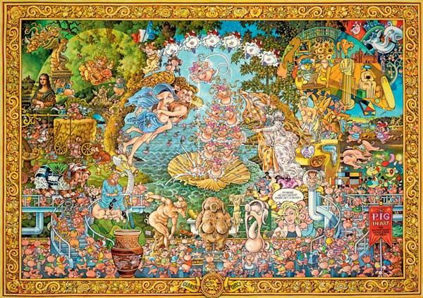 Puzzle de 4000 Piezas Heye HEYE-29637