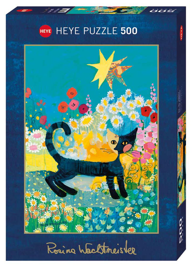 Sea of Blossom Cats Jigsaw Puzzle