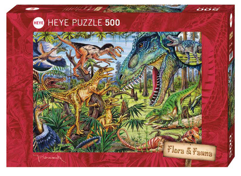 Carnivores Dinosaurs Jigsaw Puzzle
