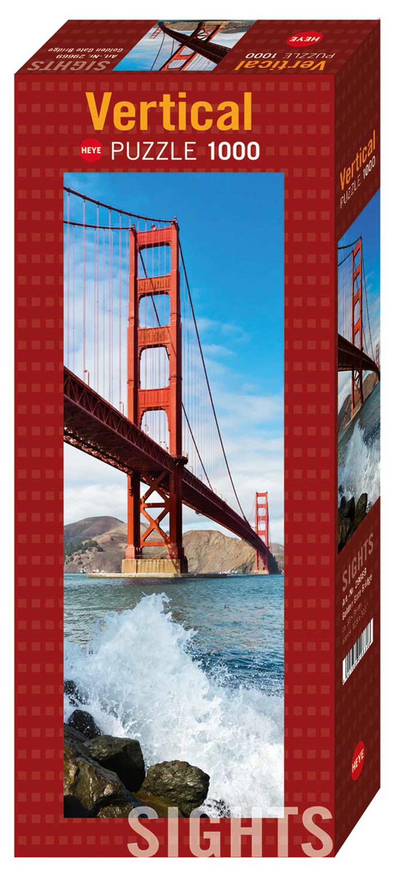 Golden Gate Bridge (Sights) - Scratch and Dent Landmarks / Monuments Jigsaw Puzzle