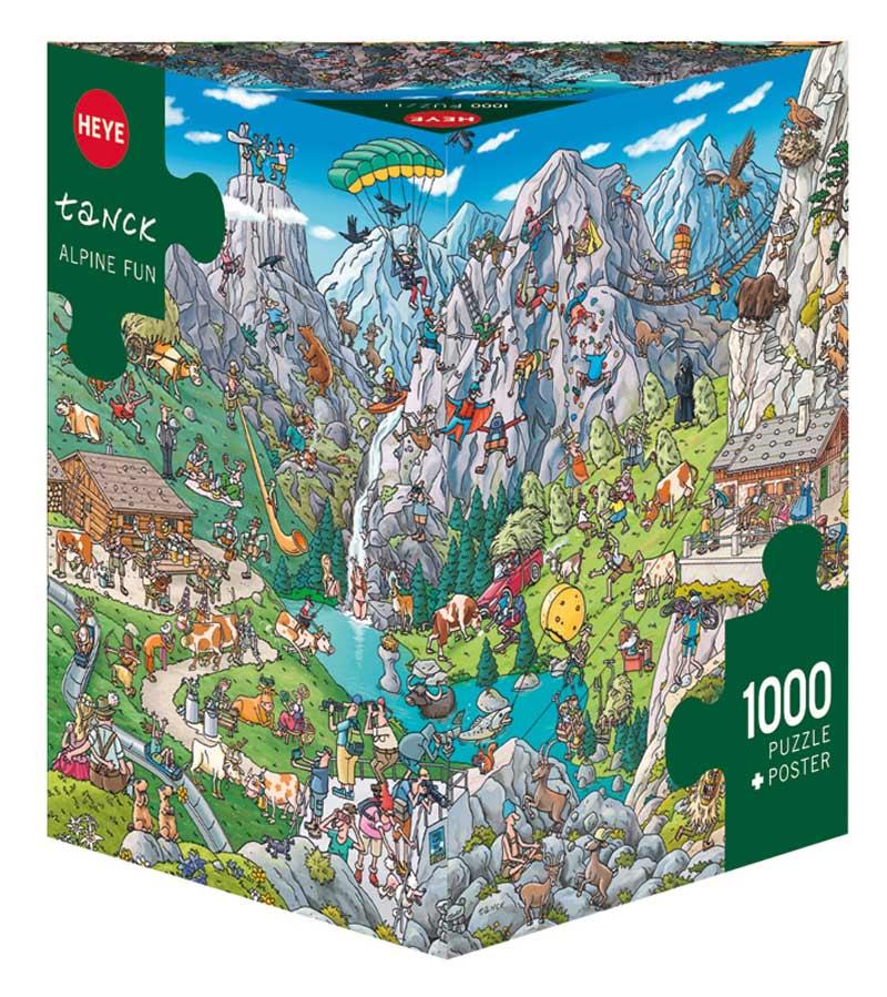 Alpine Fun People Jigsaw Puzzle