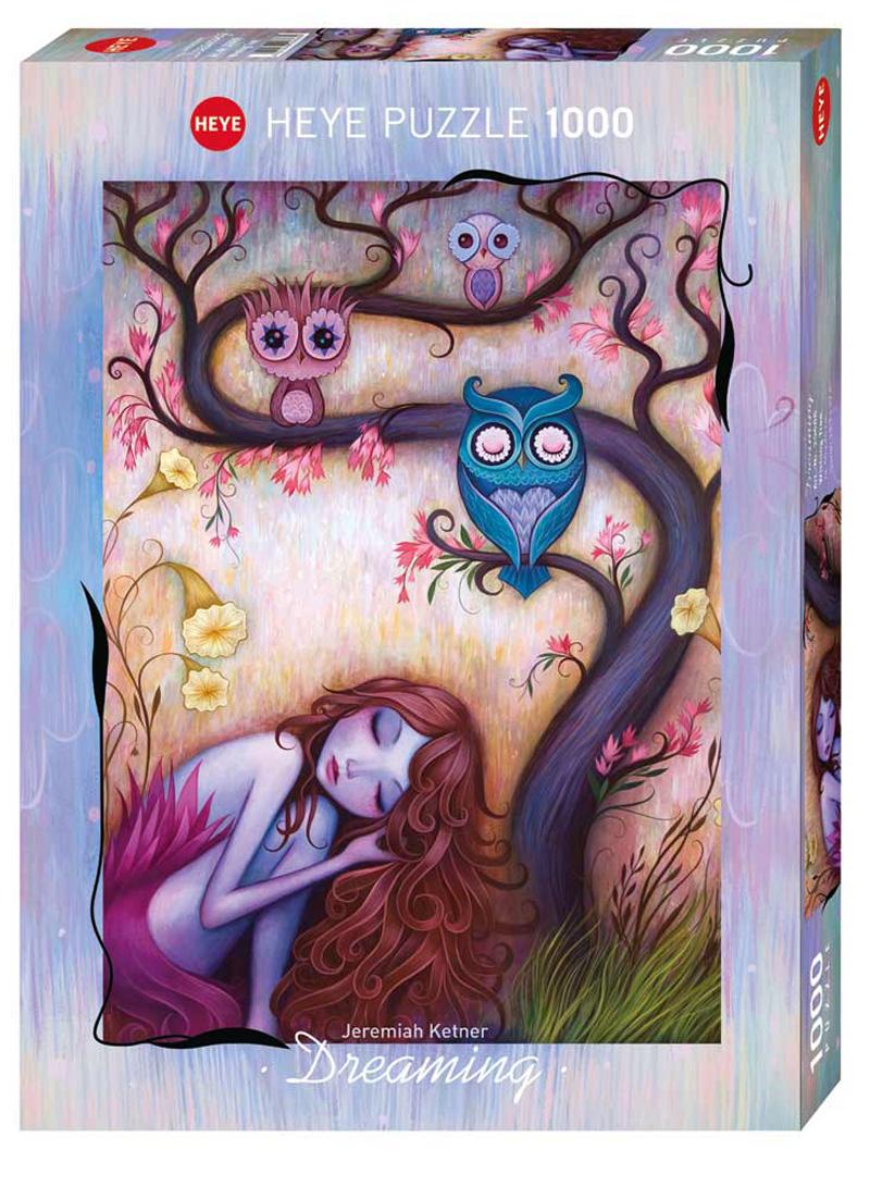 Wishing Tree (Dreaming) Birds Jigsaw Puzzle
