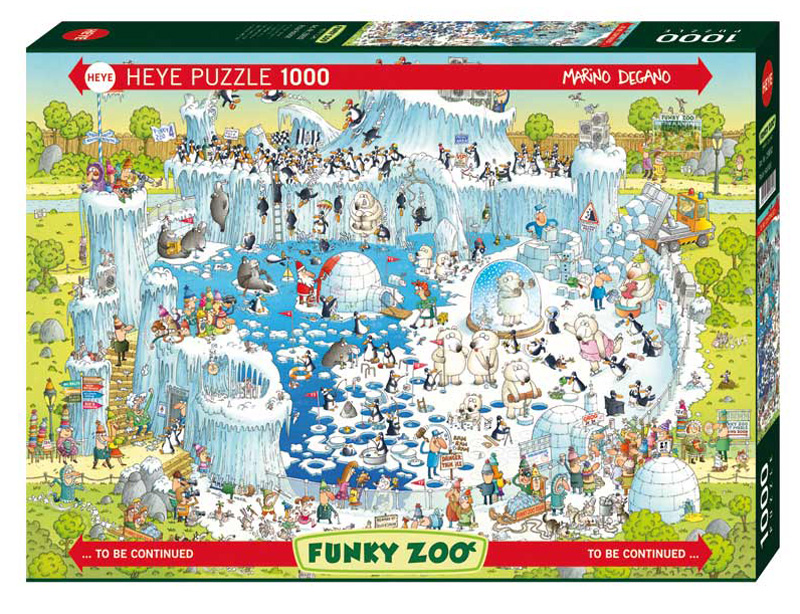 Polar Habitat Animals Jigsaw Puzzle