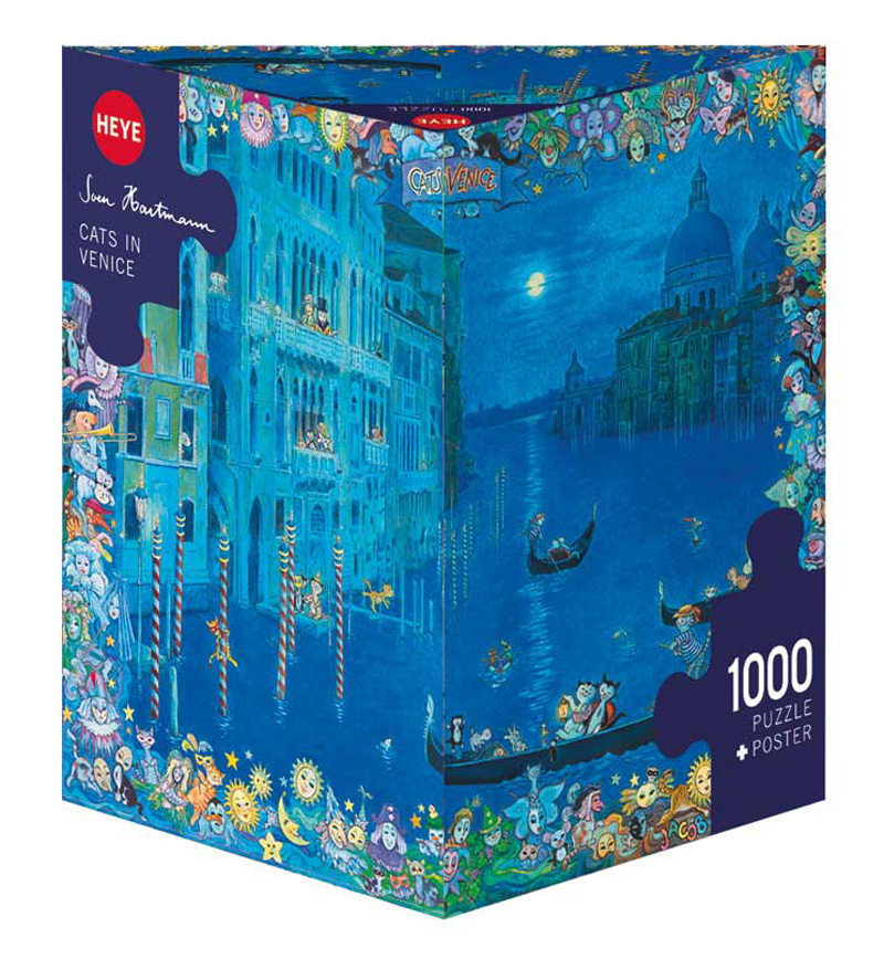 Cats in Venice Cats Jigsaw Puzzle