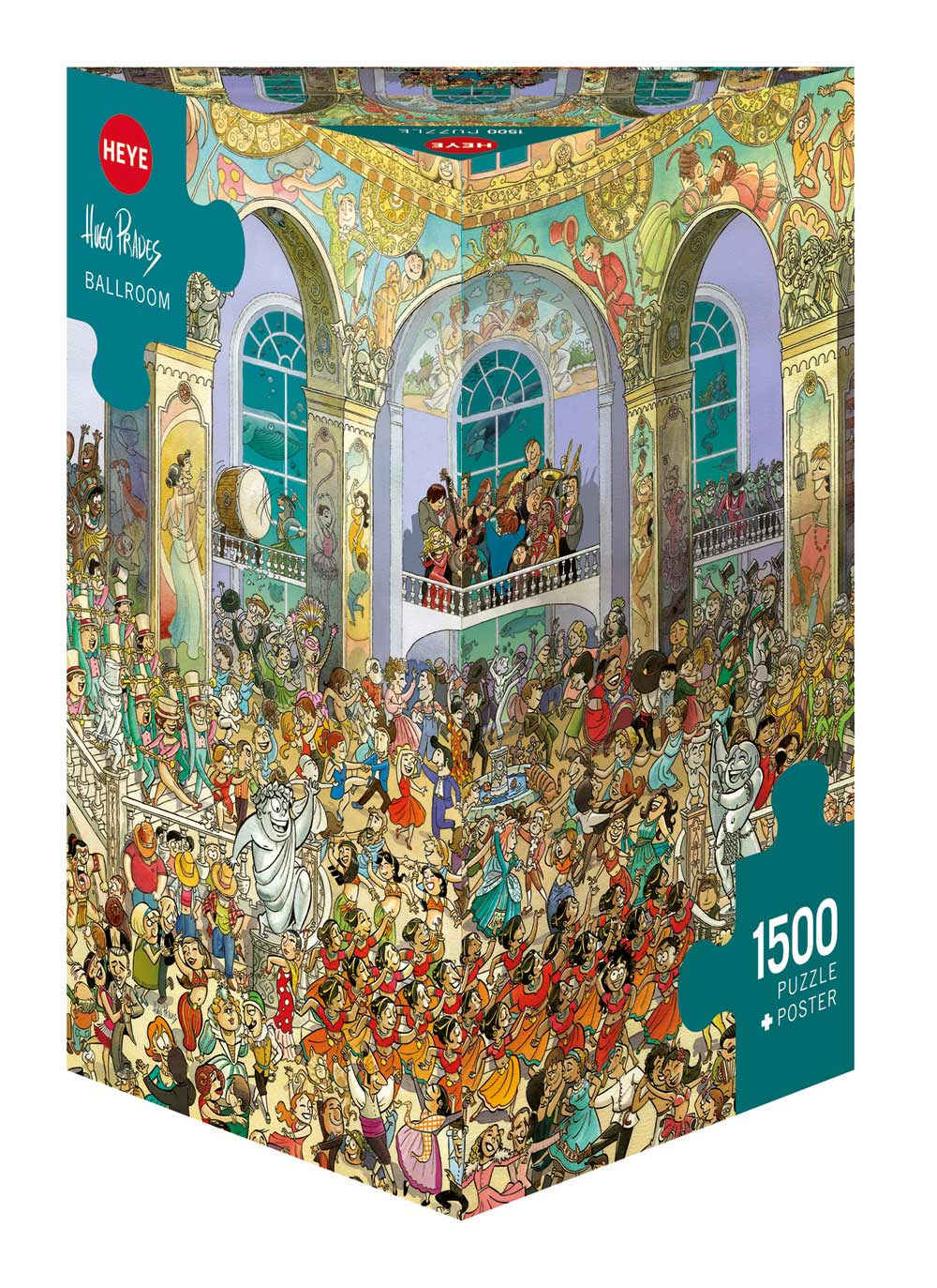 Ballroom People Jigsaw Puzzle