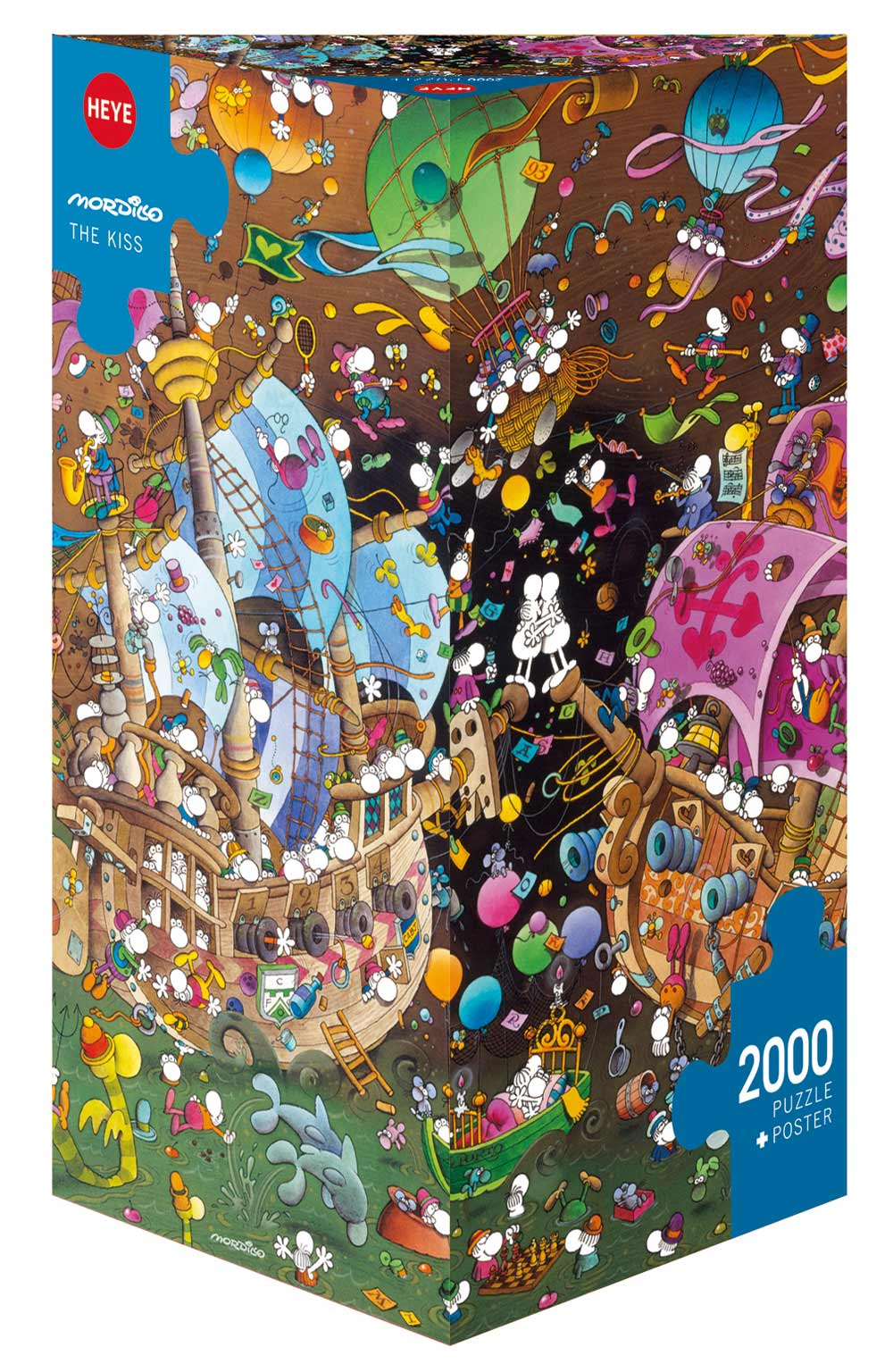 The Kiss Boats Jigsaw Puzzle