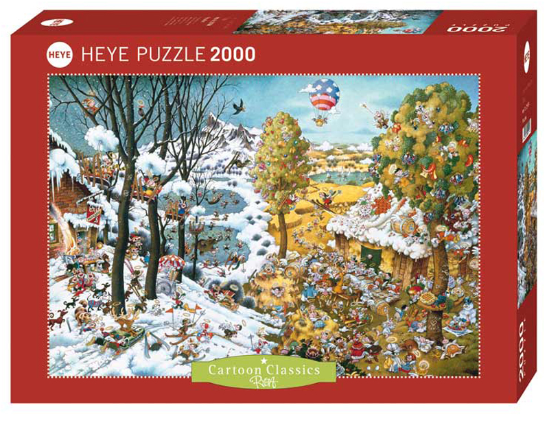 Paradise Cartoons Jigsaw Puzzle