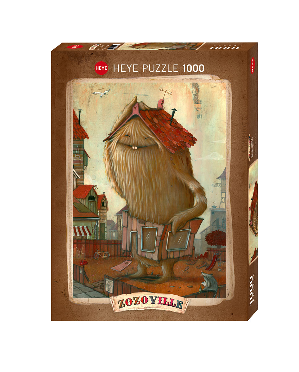Neighbourhood Cartoons Jigsaw Puzzle