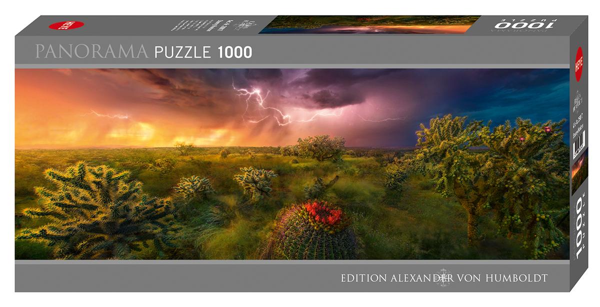 Stormy Horizon Landscape Jigsaw Puzzle