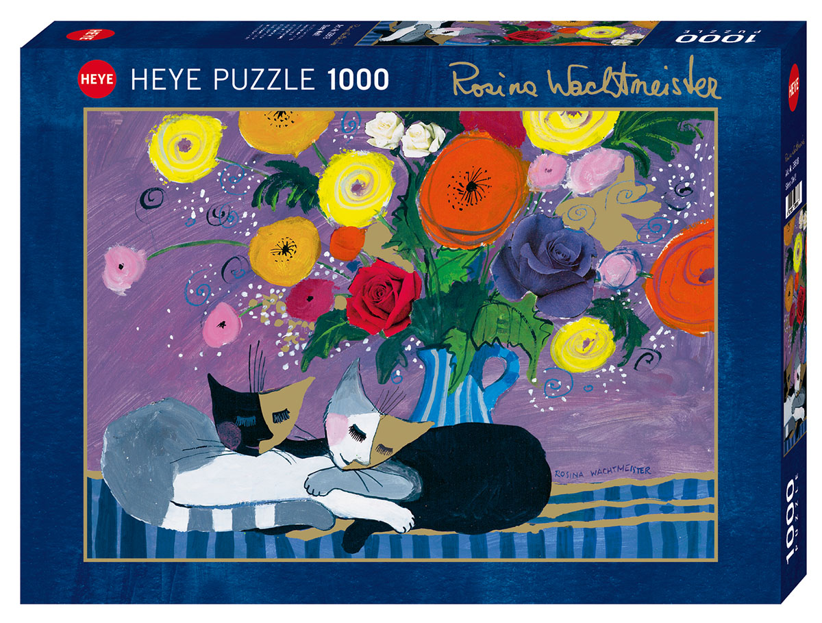 Sleep Well! Cats Jigsaw Puzzle