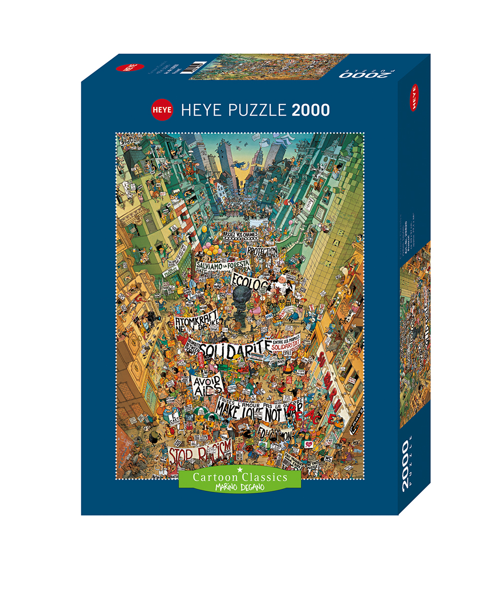 Protest! Cartoons Jigsaw Puzzle