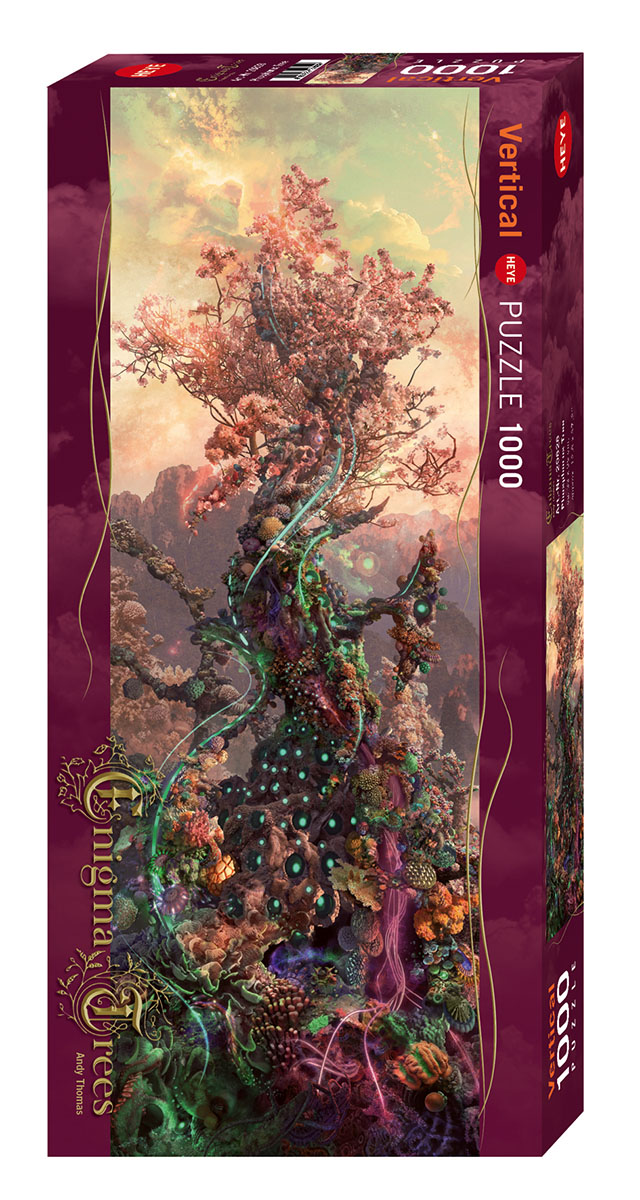 Phosphorus Tree Fantasy Jigsaw Puzzle