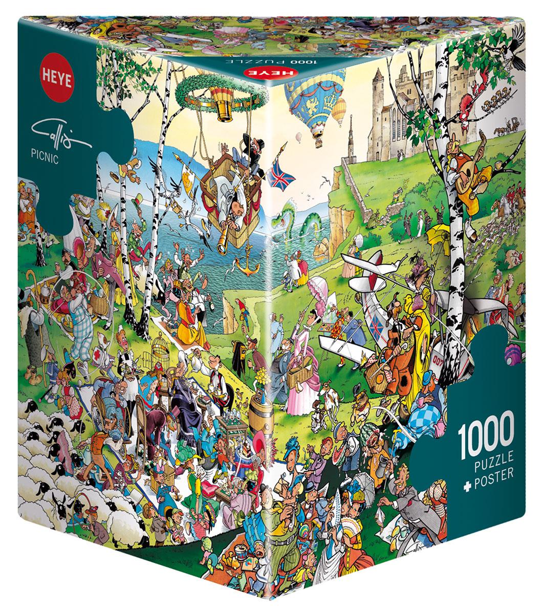 Picnic Cartoons Jigsaw Puzzle