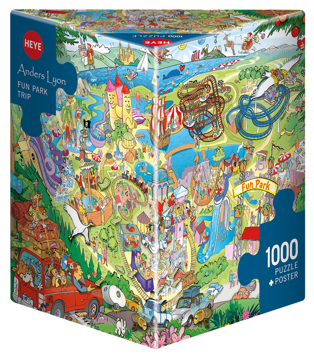 Fun Park Trip, Lyon Cartoons Jigsaw Puzzle