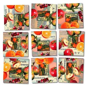 Fruit Food and Drink Non-Interlocking Puzzle