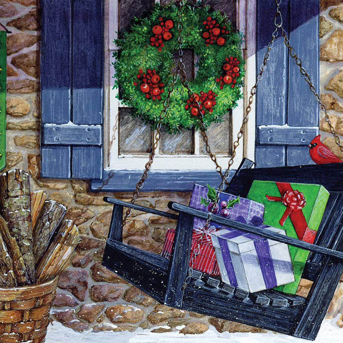 Holiday Greetings Graphics / Illustration Jigsaw Puzzle