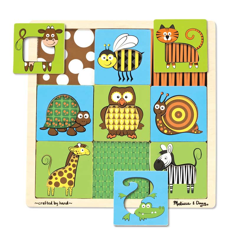 Peek-Through Puzzle Animals Other Animals Jigsaw Puzzle