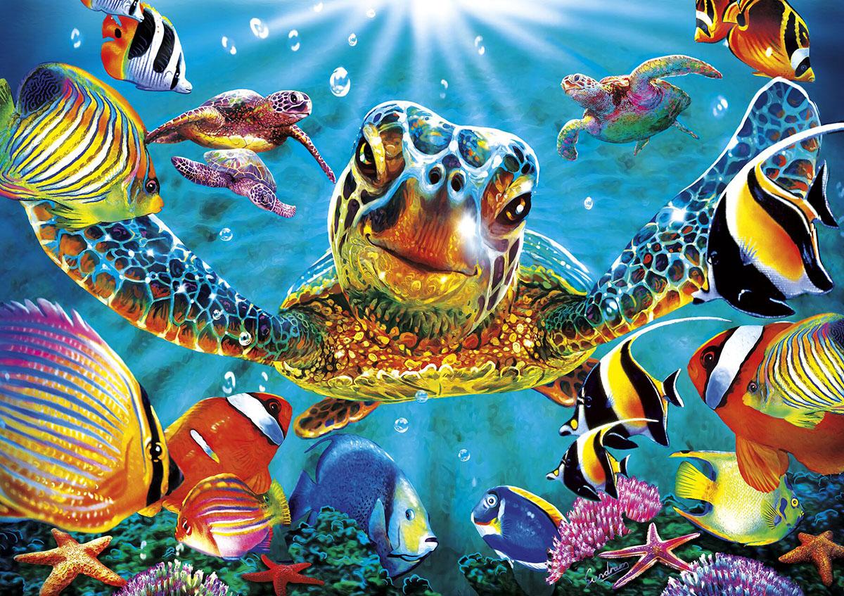 Tiny Bubbles Under The Sea Jigsaw Puzzle