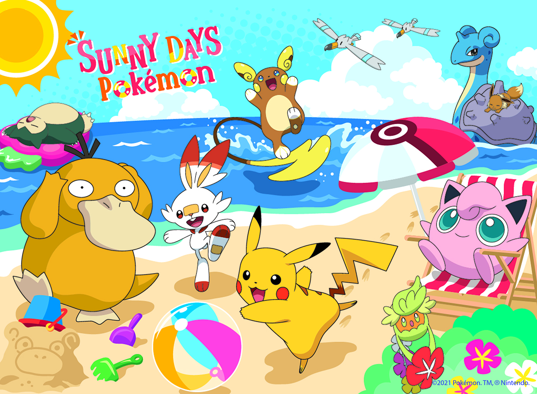 Pokemon Beach Day Movies / Books / TV Jigsaw Puzzle