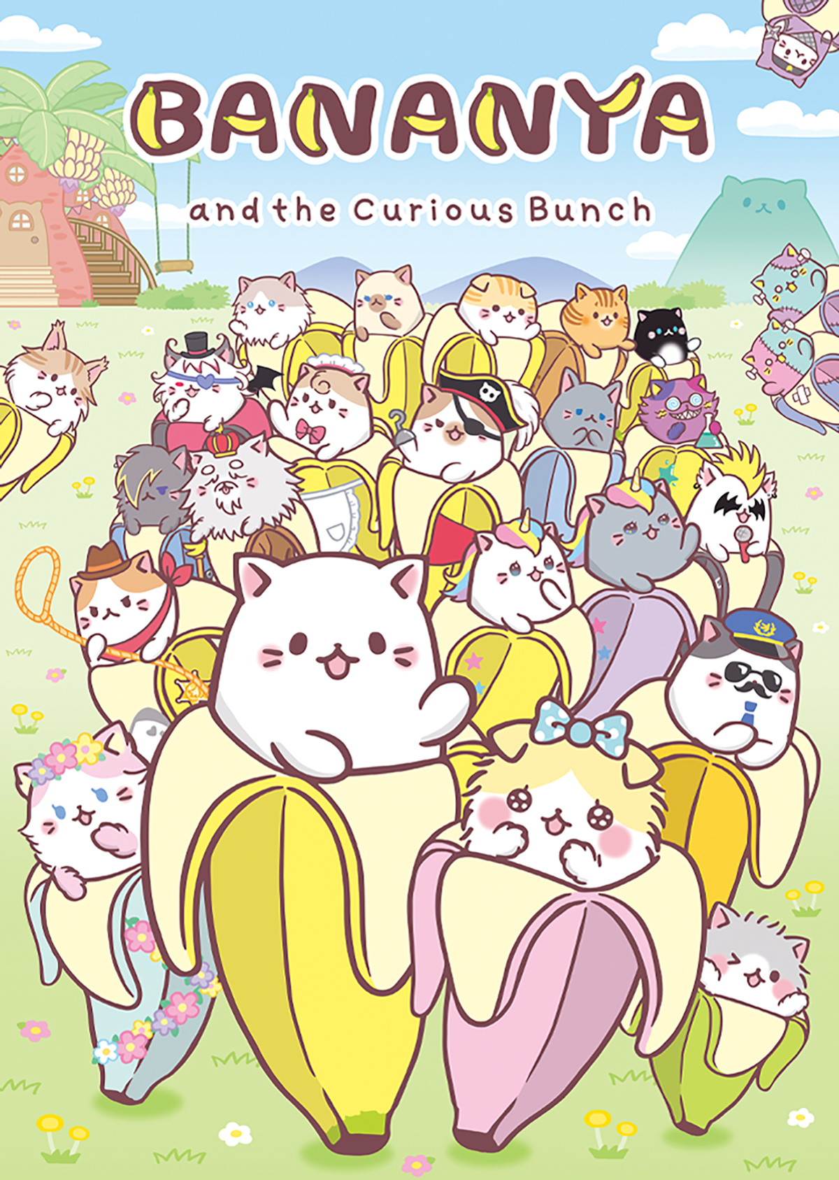 Bananya Cartoons Children's Puzzles