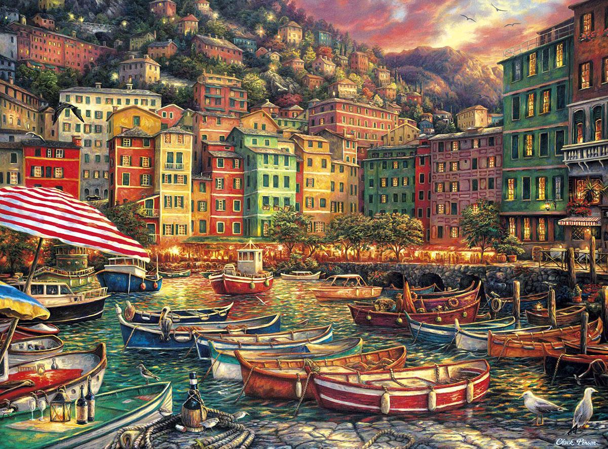 Vibrant Italy Italy Jigsaw Puzzle