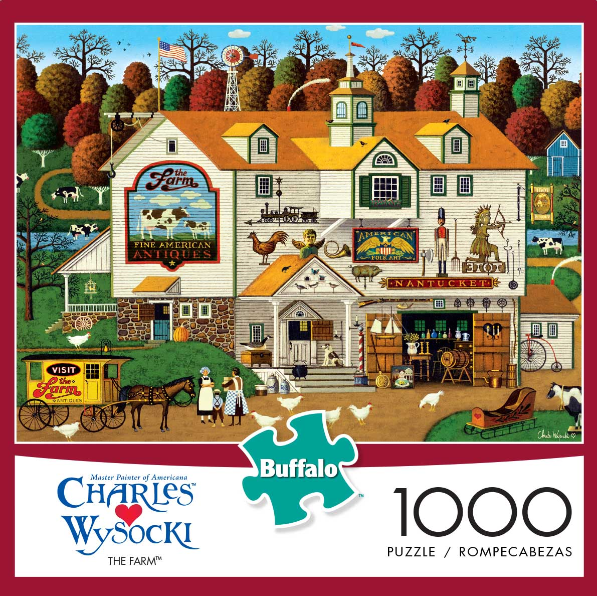 The Farm Farm Jigsaw Puzzle