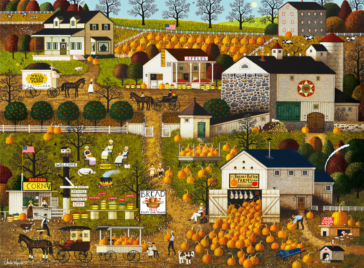 Bread & Butter Farms Farm Jigsaw Puzzle