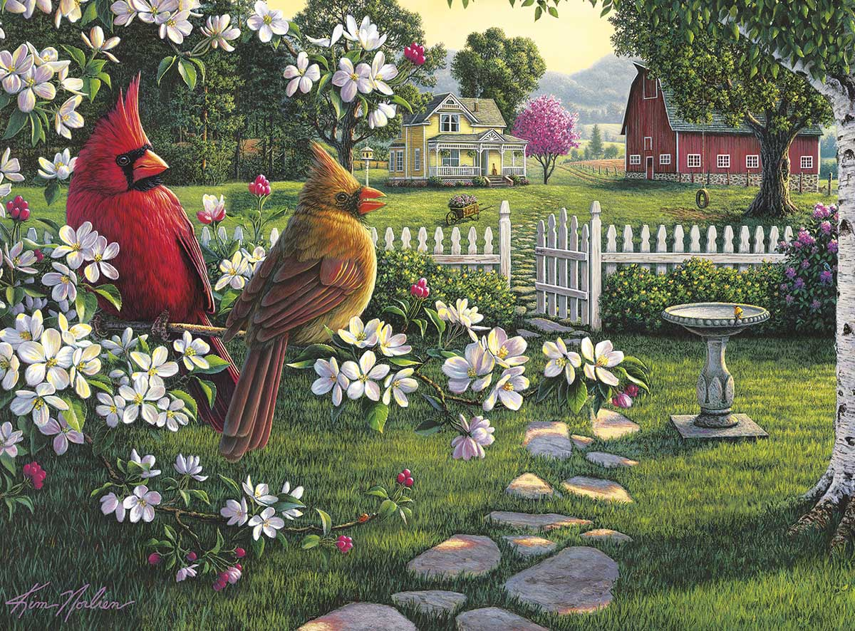 Country Music Birds Jigsaw Puzzle