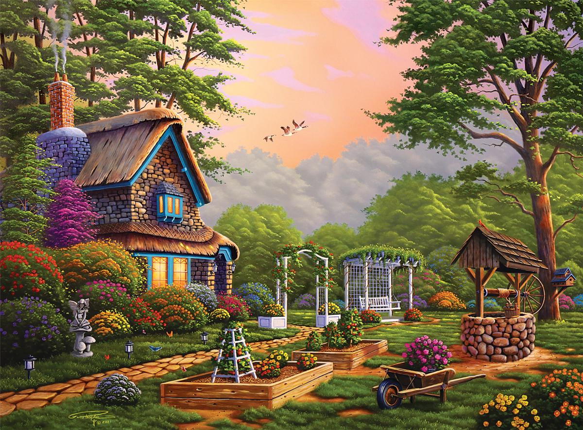 Backyard Garden Garden