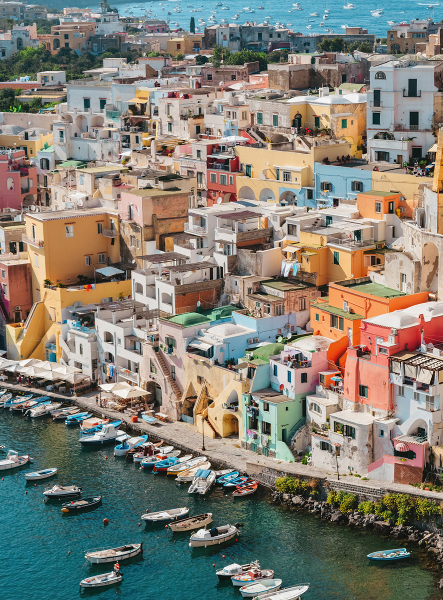 Blanc Series: Procida, Italy Italy Jigsaw Puzzle