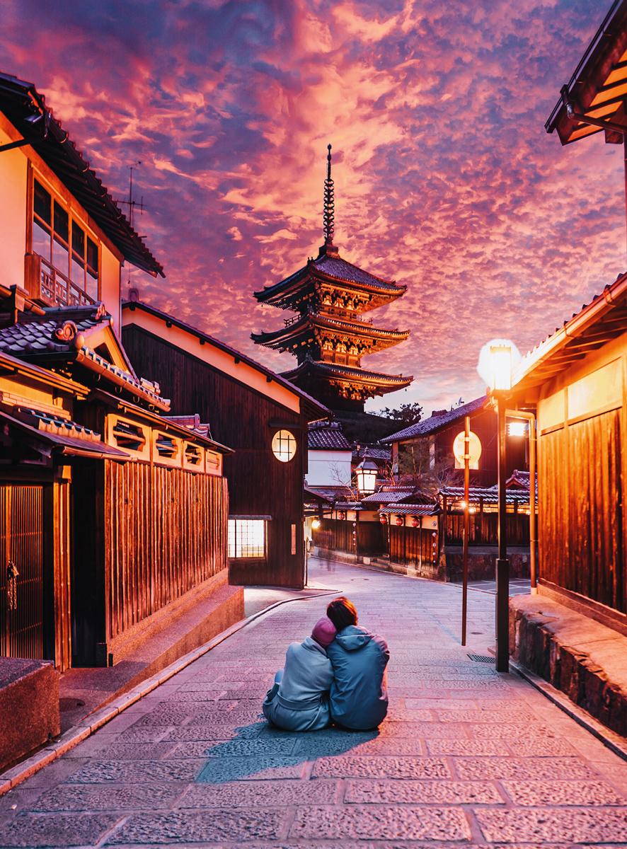 Blanc Series: Lost in Kyoto Japan Japan Jigsaw Puzzle