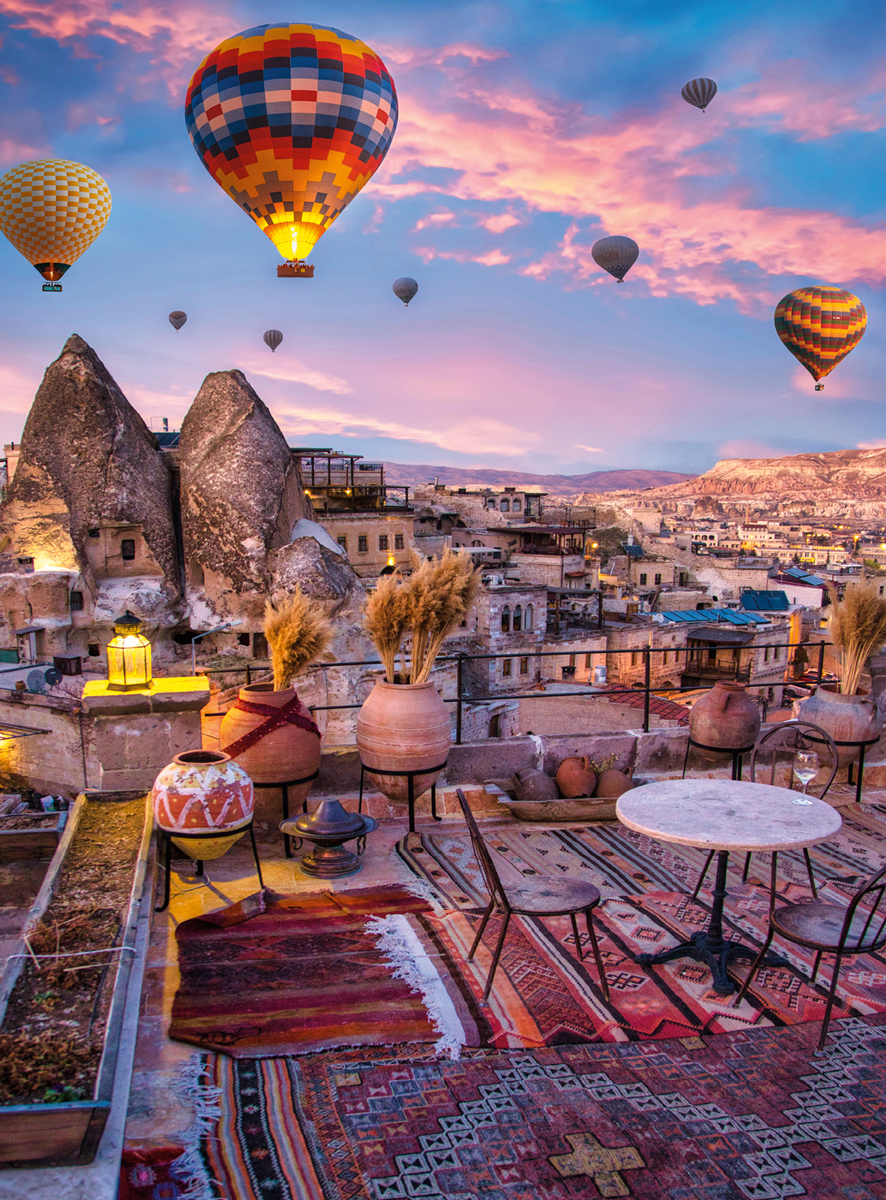 Blanc Series: Cappadocia Hot Air Balloons Balloons Jigsaw Puzzle