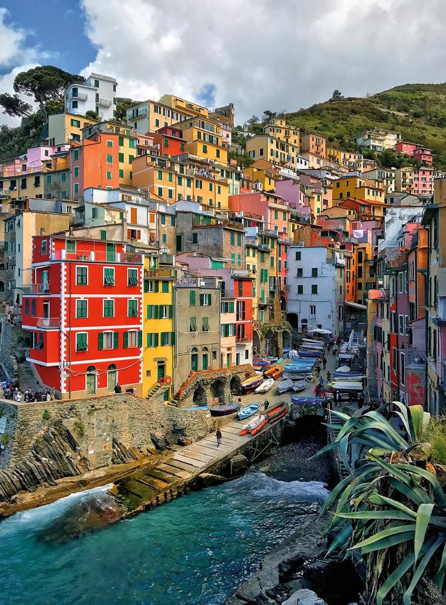 Brights of Cinque Terre Italy Jigsaw Puzzle