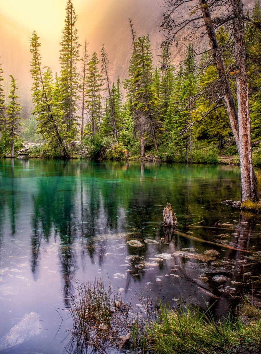Grassi Lakes, Alberta Canada Canada Jigsaw Puzzle