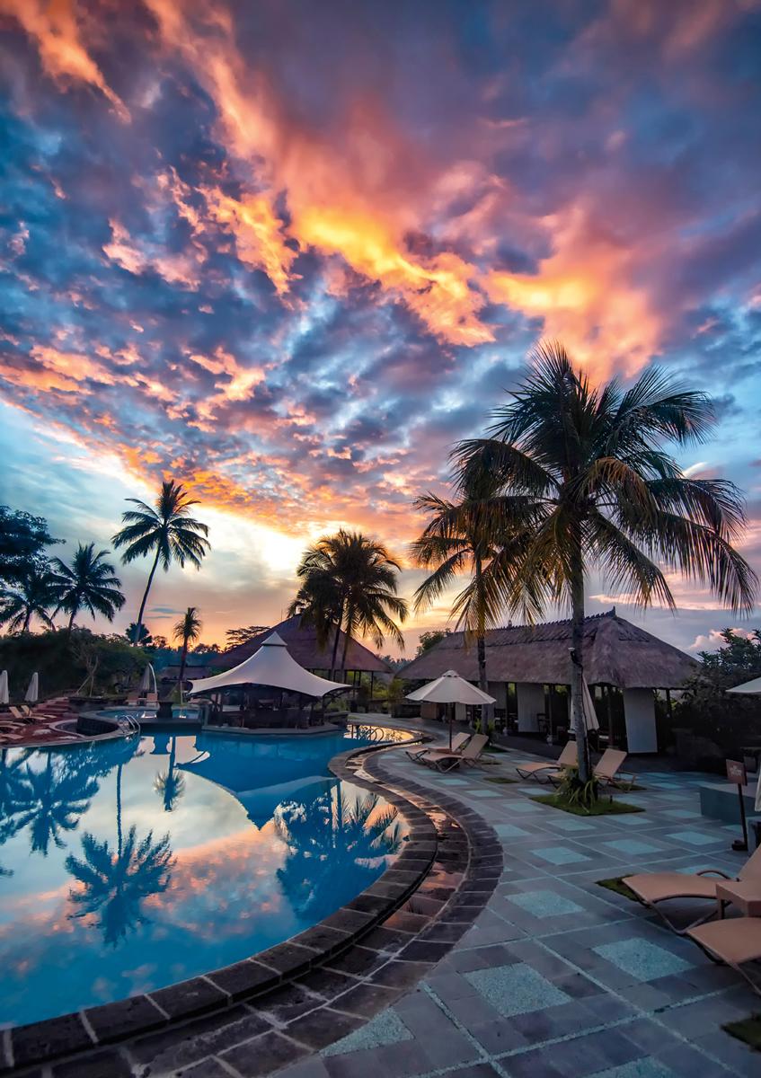 BLANC Series: Bali Sunset Summer Jigsaw Puzzle